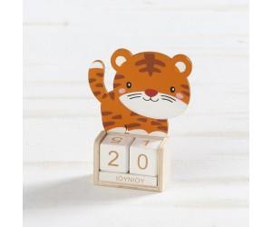 Ξύλινο Ημερολόγιο Τίγρη