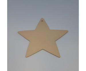 Διακοσμητικό Ξύλινο Αστέρι