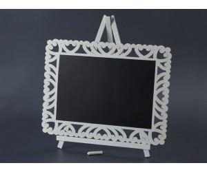 Διακοσμητικό Ξύλινος μαυροπίνακας 40x30