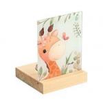 Plexiglass σε ξύλινη βάση ρεσώ Giraffe