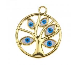 Διακοσμητικό Mάτι Δέντρο Ζωής μεταλλικό